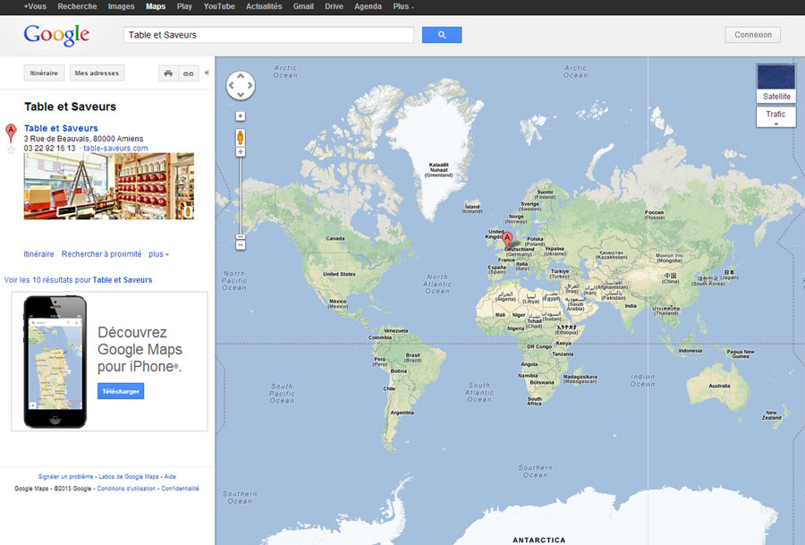 Visite virtuelle worldmap